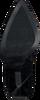 Zwarte LOLA CRUZ Enkellaarsjes 293T30BK  - small