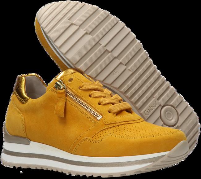 Gele GABOR Sneakers 528  - large