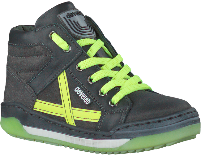 Grijze DEVELAB Sneakers 44121  - large