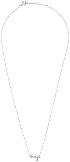 Zilveren ALLTHELUCKINTHEWORLD Ketting URBAN NECKLACE BOYS - large
