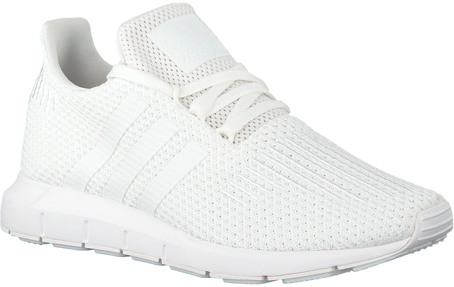 Witte ADIDAS Sneakers SWIFT RUN DAMES  - large