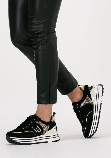 Zwarte LIU JO Lage sneakers MAXI WONDER 20  - large