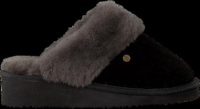 Zwarte WARMBAT Pantoffels ALICE  - large
