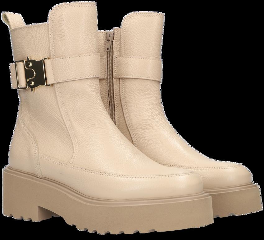 Beige VIA VAI Chelsea boots BOBBI  - larger