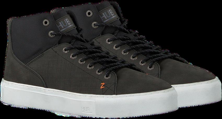 Zwarte HUB Hoge sneaker MURRAYFIELD 2.0  - larger