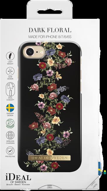 Zwarte IDEAL OF SWEDEN Telefoonhoesje FASHION CASE IPHONE 8/7/6/6S - large