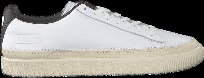 Witte PUMA Sneakers BASKET TRIM  - large