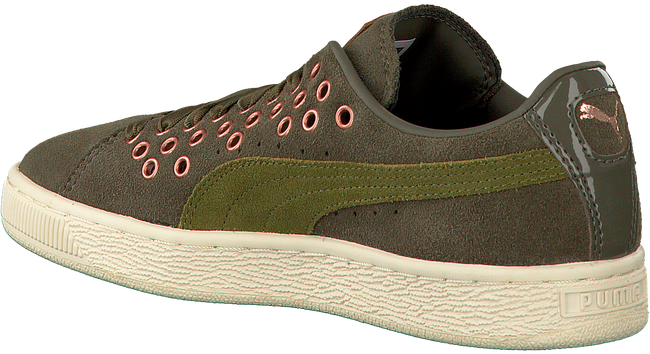 Groene PUMA Sneakers SUEDE XL LACE VR  - large