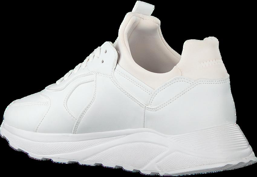 Witte EKN FOOTWEAR Lage sneakers LARCH HEREN  - larger