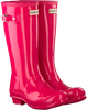 Roze HUNTER Regenlaarzen ORIGINAL KIDS GLOSS - small