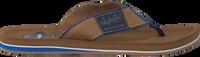 Bruine AUSTRALIAN Slippers SANDFORT AT SEA  - medium
