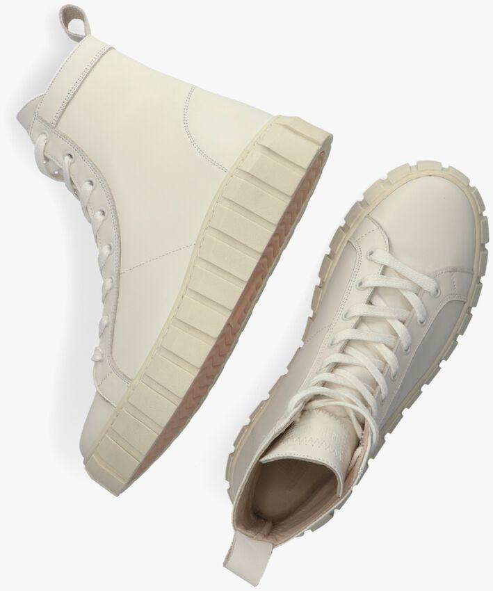 Witte DEABUSED Hoge sneaker DEA-2066  - larger