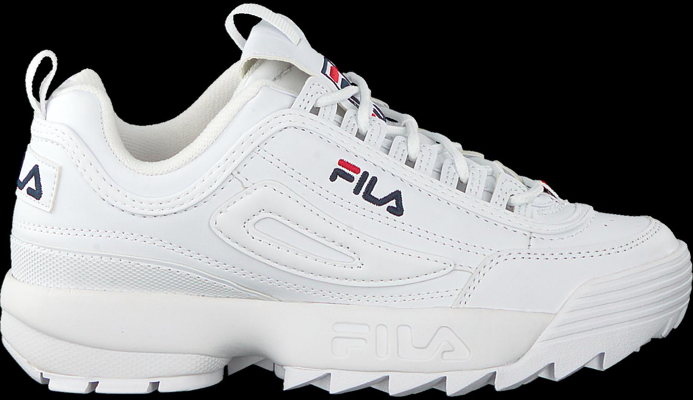 kwaliteit beter beste service Witte FILA Sneakers DISRUPTOR S LOW WMN