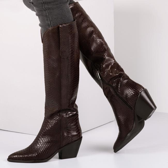Bruine NOTRE-V Lange laarzen AH69  - large