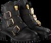Zwarte PS POELMAN Biker boots 5461 - small