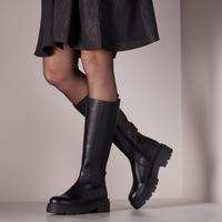 Zwarte PS POELMAN Hoge laarzen R17646-L1184  - medium
