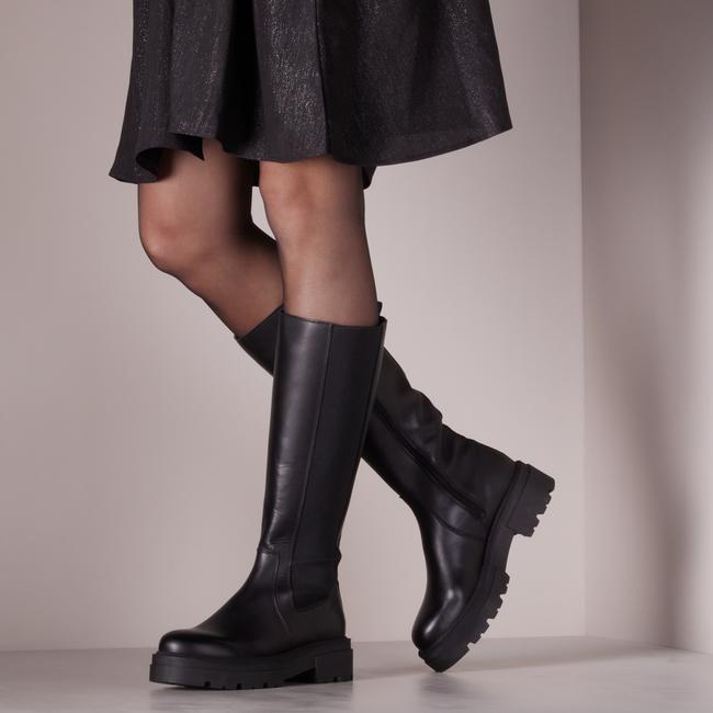 Zwarte PS POELMAN Hoge laarzen R17646-L1184  - large