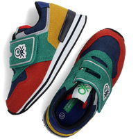 Multi BENETTON Lage sneakers BUMBER VELCRO CORDUROY  - medium