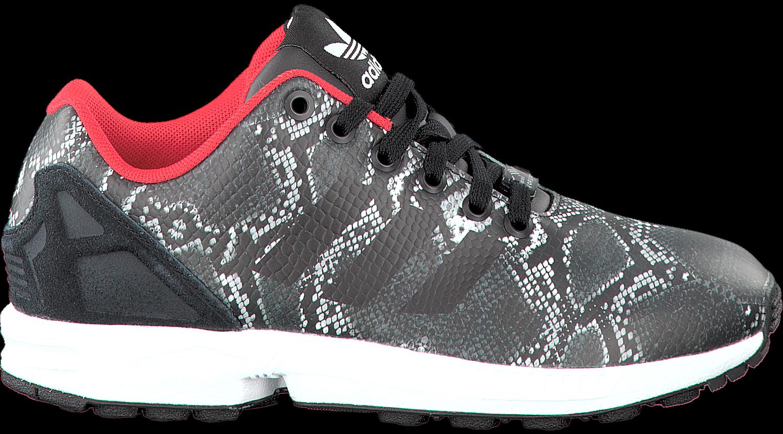 Zwarte ADIDAS Sneakers ZX FLUX DAMES - Omoda.nl