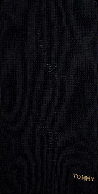 Blauwe TOMMY HILFIGER Sjaal EFFORTLES KNIT SCAR - large
