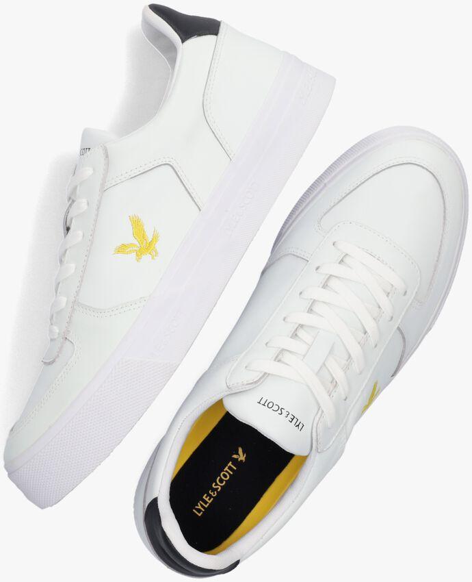 Witte LYLE & SCOTT Lage sneakers MCMAHON  - larger