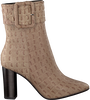 Taupe LOLA CRUZ Enkellaarsjes 285T78BK - small
