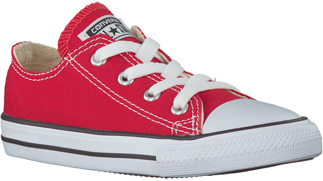 Rode CONVERSE Sneakers CTAS OX KIDS  - large