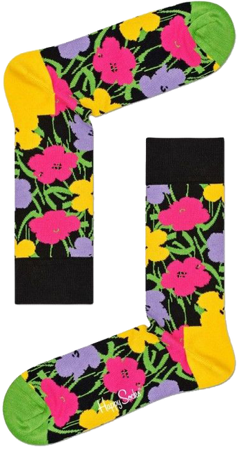 HAPPY SOCKS Sokken ANDY WARHOL FLOWER - large