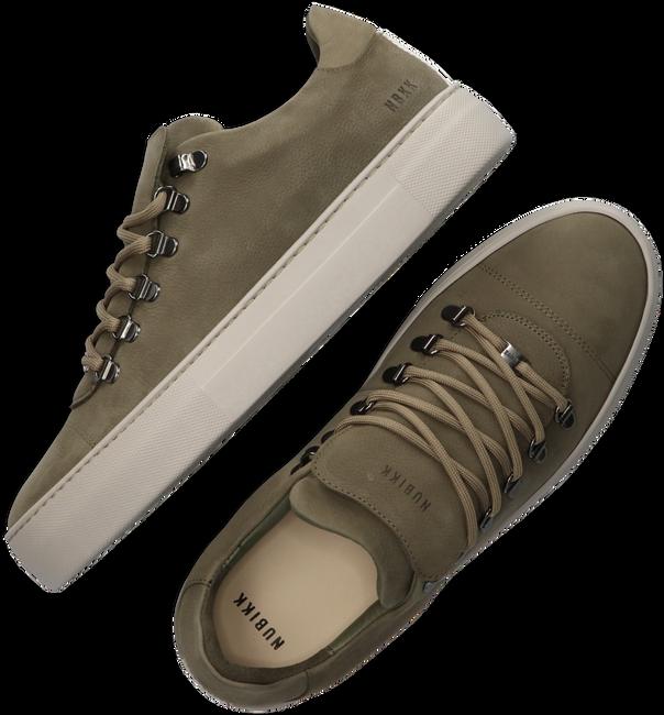 Groene NUBIKK Lage sneakers JAGGER CLASSIC  - large