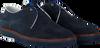 Blauwe FLORIS VAN BOMMEL Veterschoenen 14020  - small