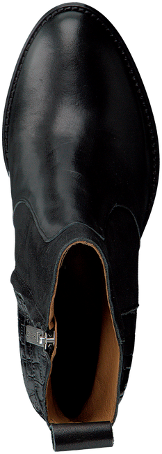 Zwarte SHABBIES Enkellaarsjes 183020156 SHS0714  - large