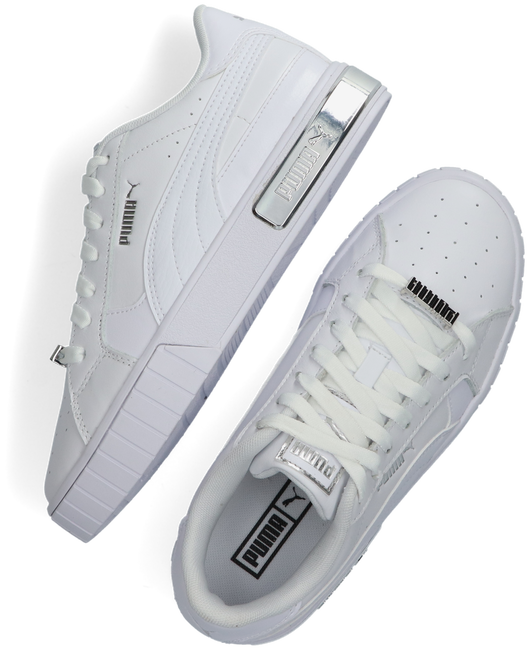 Witte PUMA Lage sneakers CALI STAR METALLIC WN'S  - large