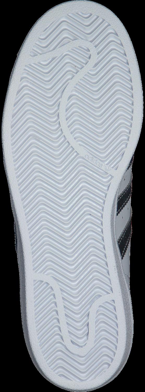 witte adidas sneakers superstar dames met zilveren accenten