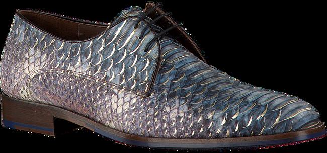 Blauwe FLORIS VAN BOMMEL Nette schoenen FLORIS VAN BOMMEL 14170  - large