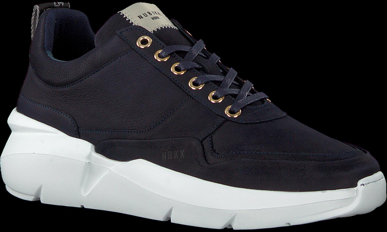 Blauwe Nubikk Lage Sneakers Elven Tanuki