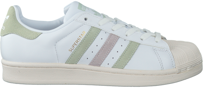 Witte ADIDAS Sneakers SUPERSTAR DAMES - Omoda