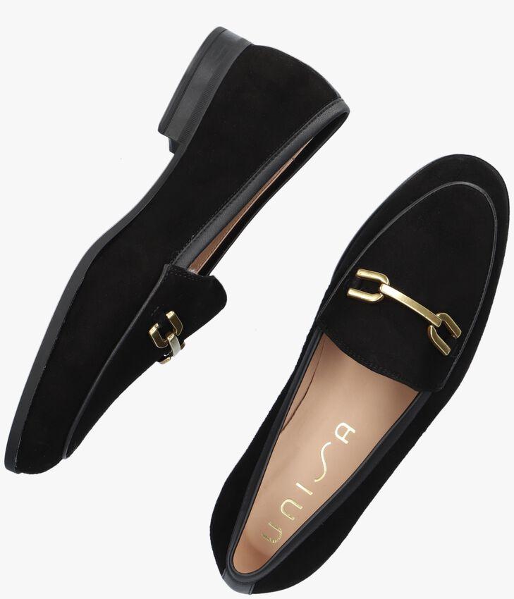 Zwarte UNISA Loafers DAMIEL  - larger