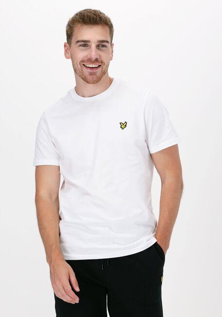 Witte LYLE & SCOTT T-shirt PLAIN T-SHIRT - large