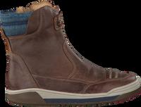 Bruine BRAQEEZ Enkelboots 417853  - medium