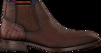 Bruine BRAEND Chelsea boots 24986  - medium