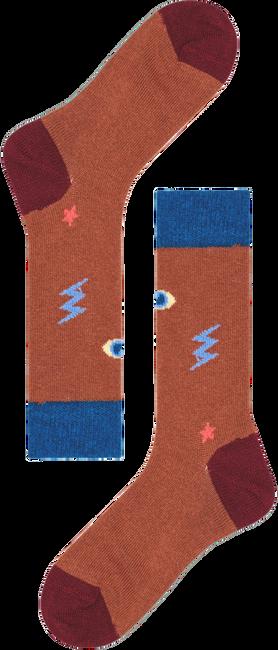 Bruin HAPPY SOCKS Sokken HYSTERIA LULU MID HIGH SOCK  - large