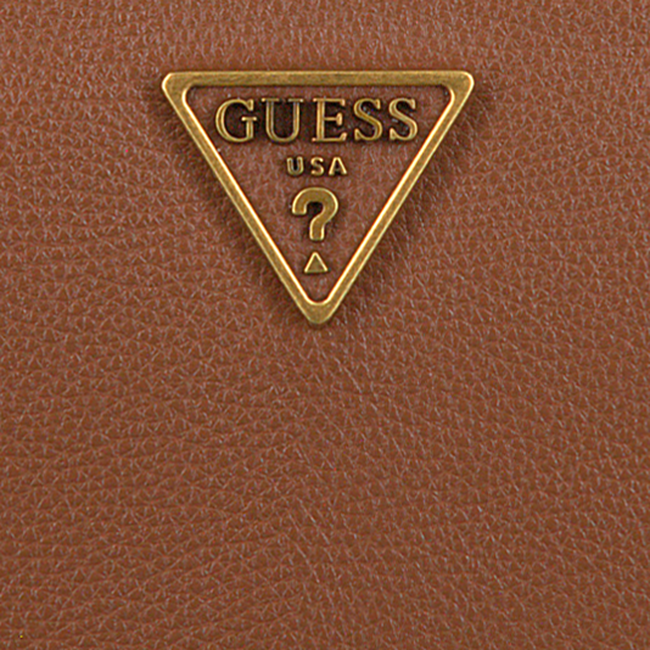 Cognac GUESS Portemonnee DESTINY SLG LARGE ZIP AROUND  - large