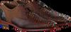 Cognac FLORIS VAN BOMMEL Nette schoenen 18106  - small