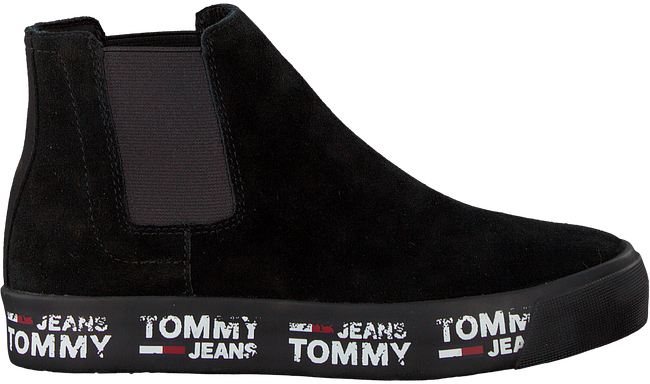 Zwarte TOMMY HILFIGER Chelsea boots MID CITY SNEAKER - large