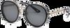 Zwarte IKKI Zonnebril BELLE - small