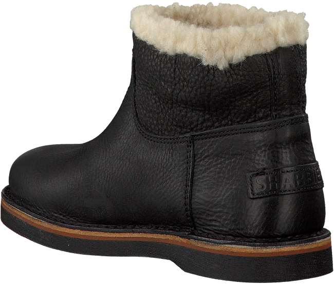 Zwarte SHABBIES Enkelboots 181020056  - large