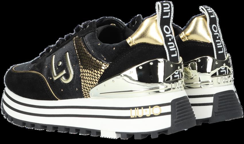 Zwarte LIU JO Lage sneakers MAXI WONDER 20  - larger