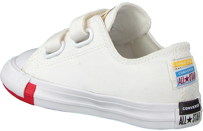 Witte CONVERSE Lage sneakers CHUCK TAYLOR ALL STAR 2V OX KIDS - large