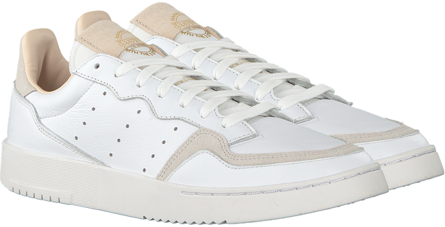 Witte ADIDAS Sneakers SUPERCOURT W - large