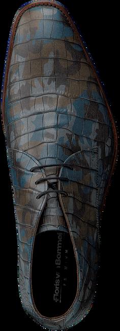Blauwe FLORIS VAN BOMMEL Nette schoenen 20024  - large